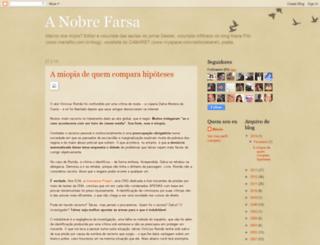 nobrefarsa.blogspot.com.br screenshot