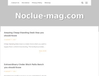 noclue-mag.com screenshot