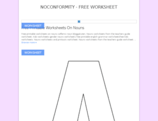 noconformity.com screenshot