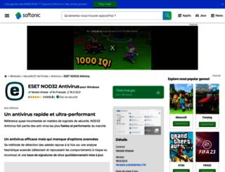 nod32-anti-virus-system.softonic.fr screenshot