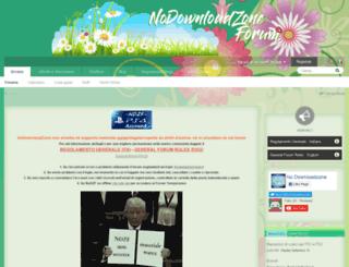 nodownloadzoneforum.net screenshot