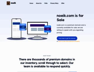 noeik.com screenshot