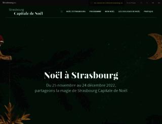 noel.strasbourg.eu screenshot