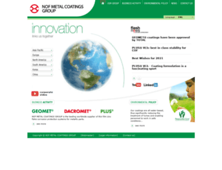 nofmetalcoatings.com screenshot