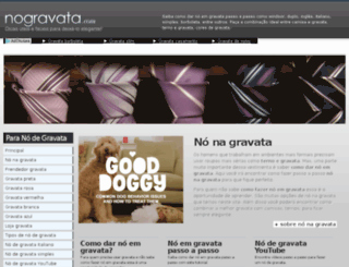 nogravata.com screenshot