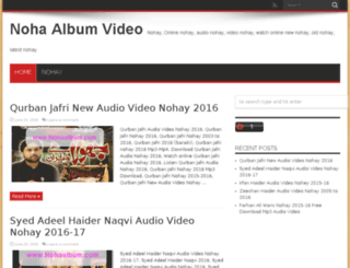 nohaalbum.com screenshot
