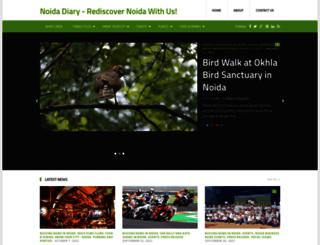 noidadiary.blogspot.in screenshot