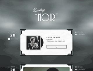 noir-theme.pixelunion.net screenshot