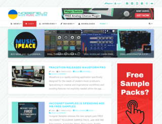 noizefield.com screenshot