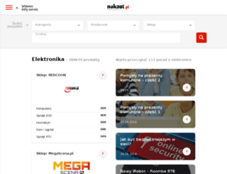 nokaut.com screenshot