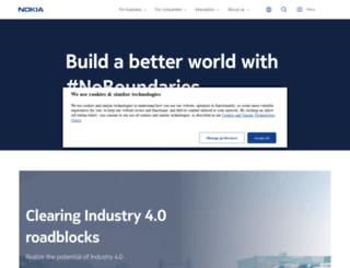 nokia-asia.com screenshot