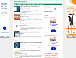 nokiafirmware24.blogspot.com screenshot