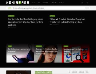 nokiasaga.com screenshot