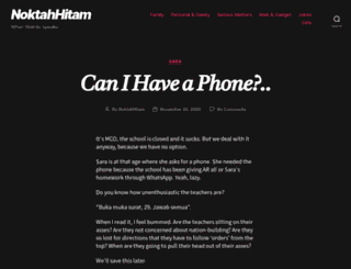 noktahhitam.com screenshot