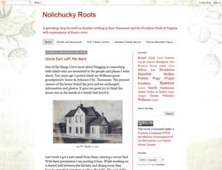 nolichuckyroots.blogspot.com screenshot