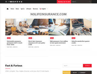 nolifeinsurancetm.com screenshot