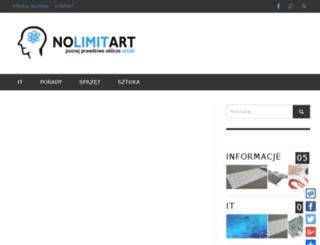 nolimitart.pl screenshot