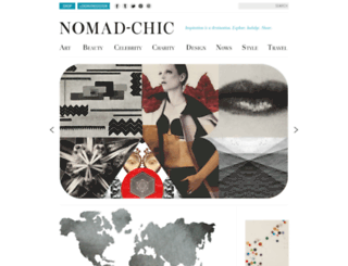 nomad-chic.com screenshot