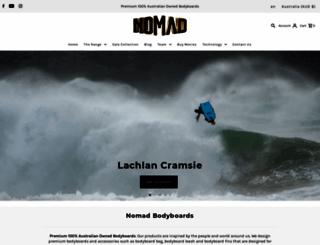 nomad.com.au screenshot