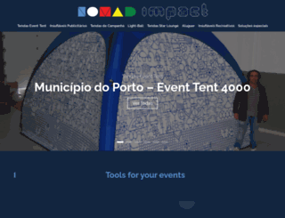 nomadimpact.com screenshot