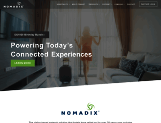 nomadix.com screenshot