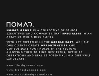 nomadmediatv.com screenshot