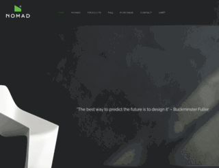 nomadmicrohomes.com screenshot