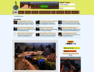 nomadtravellers.com screenshot