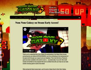 nomnomgalaxy.com screenshot