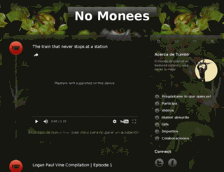 nomonees.tumblr.com screenshot