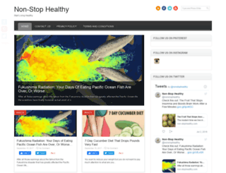 non-stophealthy.com screenshot