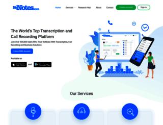 nonotes.com screenshot