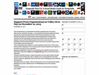 nonprofitorgs.wordpress.com screenshot