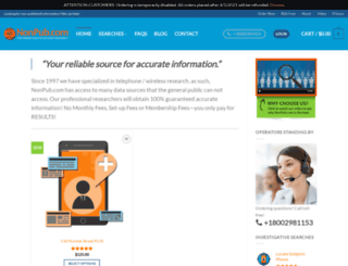nonpub.com screenshot
