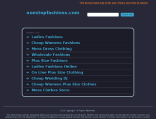 nonstopfashions.com screenshot