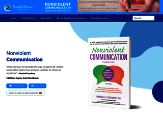 nonviolentcommunication.com screenshot