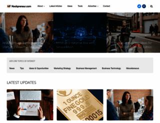 noobpreneur.com screenshot