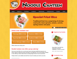 noodlecanteen.co.nz screenshot