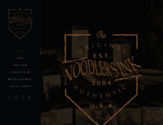 noodlersink.com screenshot