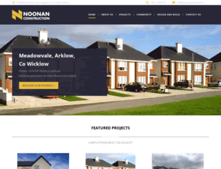 noonanconstruction.ie screenshot
