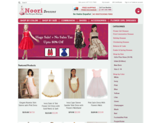 nooridresses.com screenshot