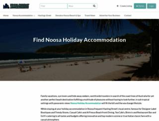 noosa-holiday-accommodation.com.au screenshot