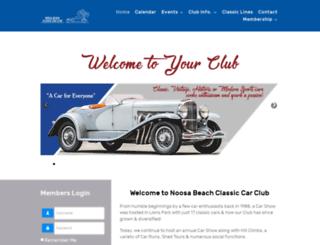 noosacarclub.com.au screenshot