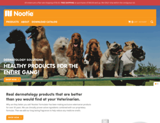 nootie.com screenshot