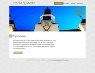 norbergmedia.de screenshot