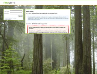 norcal.neoserra.com screenshot