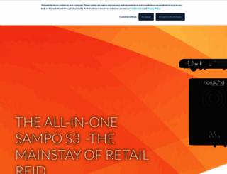 nordicid.com screenshot