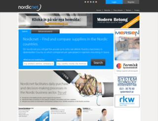 nordicnet.net screenshot