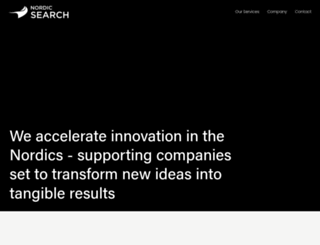 nordicsearch.com screenshot