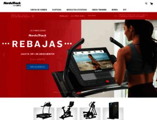 nordictrack.es screenshot